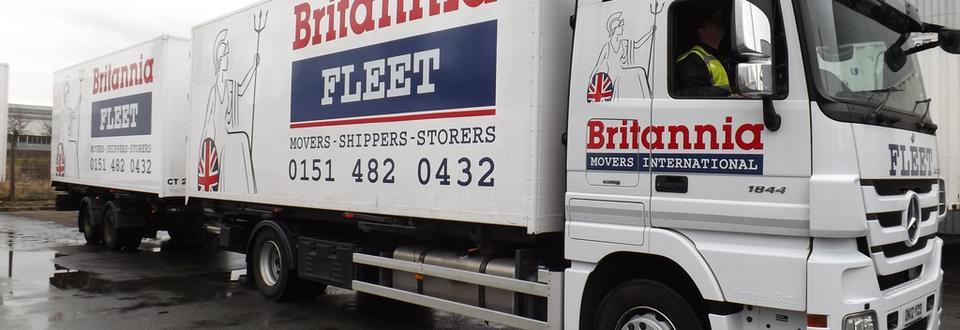 Britannia Fleet extended van