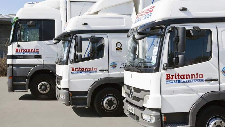 Britannia Fleet trucks