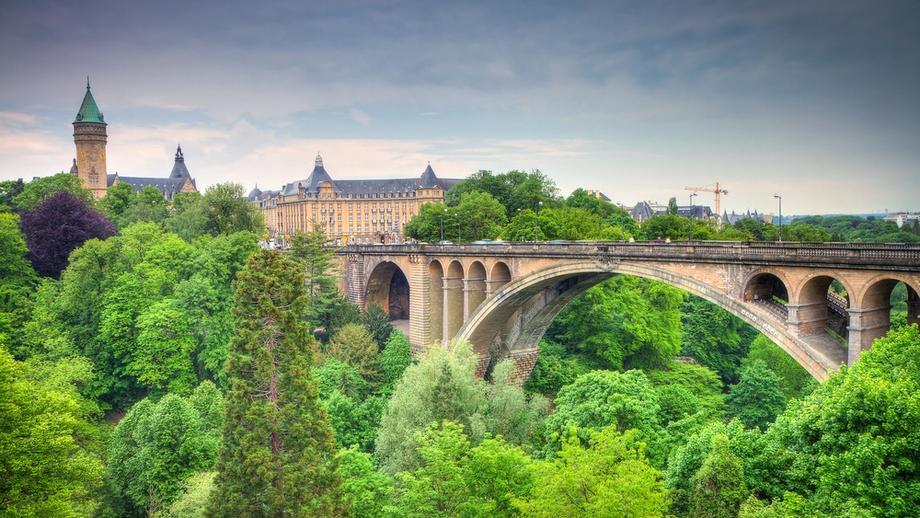 Bridge in Luxembourg