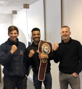 Sam Maxwell to Defend his European WBO Super Lightweight Title