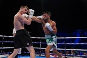 Sam Maxwell wins fight & successfully retains title!
