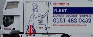Britannia Fleet Van Signage